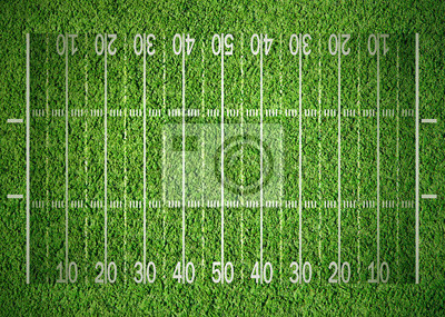 Постер Американский футбол