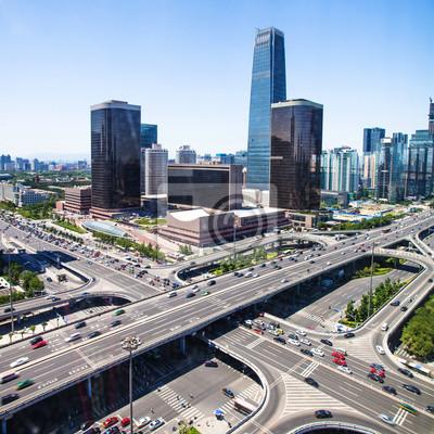Постер Пекин Пейзаж современного города ,ПекинПекин<br>Постер на холсте или бумаге. Любого нужного вам размера. В раме или без. Подвес в комплекте. Трехслойная надежная упаковка. Доставим в любую точку России. Вам осталось только повесить картину на стену!<br>