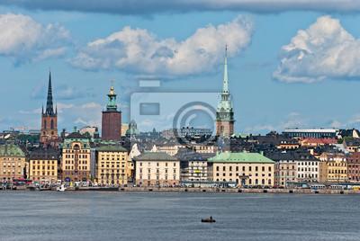 Постер Стокгольм Стокгольм старого города. Швеция.Стокгольм<br>Постер на холсте или бумаге. Любого нужного вам размера. В раме или без. Подвес в комплекте. Трехслойная надежная упаковка. Доставим в любую точку России. Вам осталось только повесить картину на стену!<br>