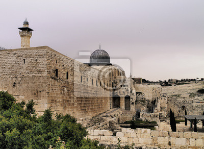 Постер Иерусалим Иерусалим, ИзраильИерусалим<br>Постер на холсте или бумаге. Любого нужного вам размера. В раме или без. Подвес в комплекте. Трехслойная надежная упаковка. Доставим в любую точку России. Вам осталось только повесить картину на стену!<br>