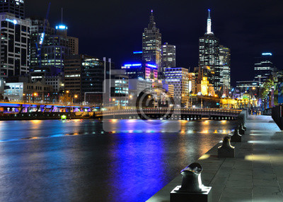 Постер Нью-Йорк Мельбурн mit Skyline und Yarra RiverНью-Йорк<br>Постер на холсте или бумаге. Любого нужного вам размера. В раме или без. Подвес в комплекте. Трехслойная надежная упаковка. Доставим в любую точку России. Вам осталось только повесить картину на стену!<br>