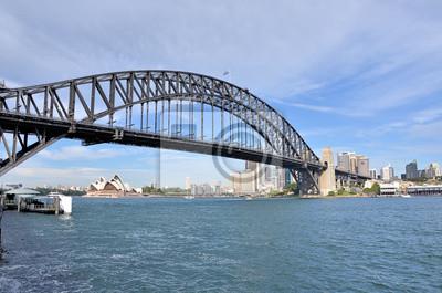 Постер Сидней Вид Sydney Harbour BridgeСидней<br>Постер на холсте или бумаге. Любого нужного вам размера. В раме или без. Подвес в комплекте. Трехслойная надежная упаковка. Доставим в любую точку России. Вам осталось только повесить картину на стену!<br>