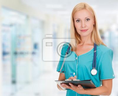 Врач, женщина в офисе, 25x20 см, на бумагеМедицина<br>Постер на холсте или бумаге. Любого нужного вам размера. В раме или без. Подвес в комплекте. Трехслойная надежная упаковка. Доставим в любую точку России. Вам осталось только повесить картину на стену!<br>