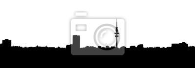 Постер Гамбург Гамбург SkylineГамбург<br>Постер на холсте или бумаге. Любого нужного вам размера. В раме или без. Подвес в комплекте. Трехслойная надежная упаковка. Доставим в любую точку России. Вам осталось только повесить картину на стену!<br>