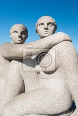 Постер Осло Вигеланда скульптура женщиныОсло<br>Постер на холсте или бумаге. Любого нужного вам размера. В раме или без. Подвес в комплекте. Трехслойная надежная упаковка. Доставим в любую точку России. Вам осталось только повесить картину на стену!<br>