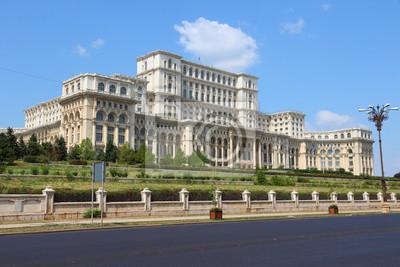 Постер Румыния Бухарест - дворец парламентаРумыния<br>Постер на холсте или бумаге. Любого нужного вам размера. В раме или без. Подвес в комплекте. Трехслойная надежная упаковка. Доставим в любую точку России. Вам осталось только повесить картину на стену!<br>