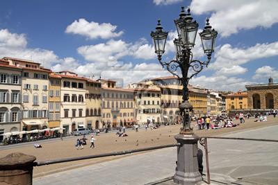 Постер Флоренция Piazza Pitti, во Флоренции, Тоскана, Италия, ЕвропаФлоренция<br>Постер на холсте или бумаге. Любого нужного вам размера. В раме или без. Подвес в комплекте. Трехслойная надежная упаковка. Доставим в любую точку России. Вам осталось только повесить картину на стену!<br>