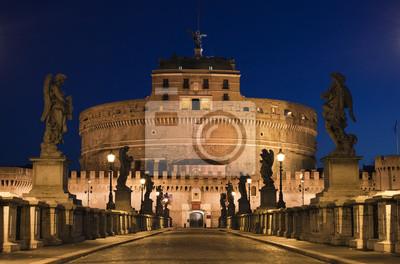 Постер Ватикан Мост в замок Сант-Анджело в Риме, ИталияВатикан<br>Постер на холсте или бумаге. Любого нужного вам размера. В раме или без. Подвес в комплекте. Трехслойная надежная упаковка. Доставим в любую точку России. Вам осталось только повесить картину на стену!<br>