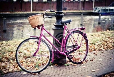 Постер Голландия Велосипед в АмстердамеГолландия<br>Постер на холсте или бумаге. Любого нужного вам размера. В раме или без. Подвес в комплекте. Трехслойная надежная упаковка. Доставим в любую точку России. Вам осталось только повесить картину на стену!<br>