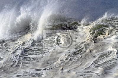 Постер Ураган, буря, торнадо Сверху большая волнаУраган, буря, торнадо<br>Постер на холсте или бумаге. Любого нужного вам размера. В раме или без. Подвес в комплекте. Трехслойная надежная упаковка. Доставим в любую точку России. Вам осталось только повесить картину на стену!<br>