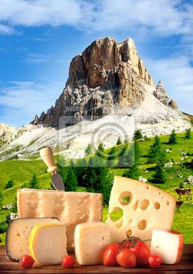 Постер Альпийский пейзаж Formaggi в альта-Монтанья - DolomitiАльпийский пейзаж<br>Постер на холсте или бумаге. Любого нужного вам размера. В раме или без. Подвес в комплекте. Трехслойная надежная упаковка. Доставим в любую точку России. Вам осталось только повесить картину на стену!<br>