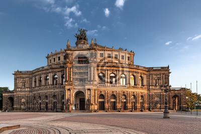 Постер Дрезден Саксонская Государственная Опера ДрезденаДрезден<br>Постер на холсте или бумаге. Любого нужного вам размера. В раме или без. Подвес в комплекте. Трехслойная надежная упаковка. Доставим в любую точку России. Вам осталось только повесить картину на стену!<br>