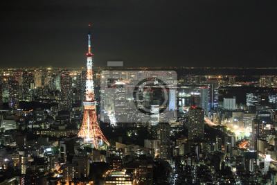 Постер Токио Tokyo Tower в Токио, ЯпонияТокио<br>Постер на холсте или бумаге. Любого нужного вам размера. В раме или без. Подвес в комплекте. Трехслойная надежная упаковка. Доставим в любую точку России. Вам осталось только повесить картину на стену!<br>