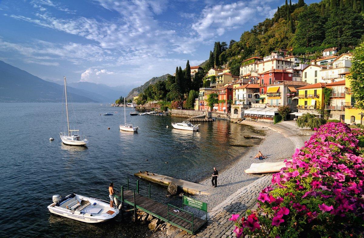 Lago di Como, 31x20 см, на бумагеИталия<br>Постер на холсте или бумаге. Любого нужного вам размера. В раме или без. Подвес в комплекте. Трехслойная надежная упаковка. Доставим в любую точку России. Вам осталось только повесить картину на стену!<br>