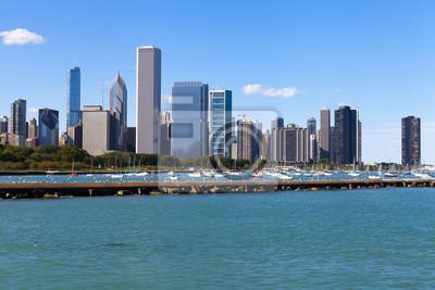 Постер Чикаго Chicago Downtown (Вода, Вид Спереди)Чикаго<br>Постер на холсте или бумаге. Любого нужного вам размера. В раме или без. Подвес в комплекте. Трехслойная надежная упаковка. Доставим в любую точку России. Вам осталось только повесить картину на стену!<br>