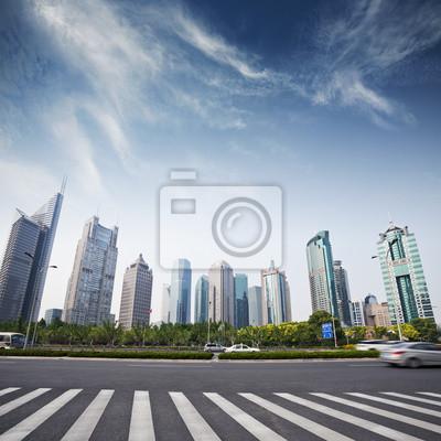 Постер Китай Городской пейзаж современного города,ШанхайКитай<br>Постер на холсте или бумаге. Любого нужного вам размера. В раме или без. Подвес в комплекте. Трехслойная надежная упаковка. Доставим в любую точку России. Вам осталось только повесить картину на стену!<br>