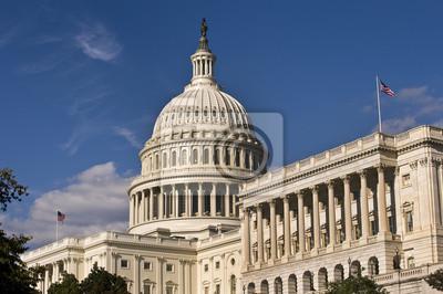 Постер Вашингтон США Капитального Строительства в Вашингтоне, округ Колумбия,Вашингтон<br>Постер на холсте или бумаге. Любого нужного вам размера. В раме или без. Подвес в комплекте. Трехслойная надежная упаковка. Доставим в любую точку России. Вам осталось только повесить картину на стену!<br>