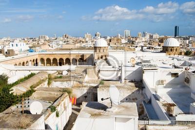 Обзор большая Мечеть Аль-Зайтуна в Тунисе, 30x20 см, на бумагеТунис<br>Постер на холсте или бумаге. Любого нужного вам размера. В раме или без. Подвес в комплекте. Трехслойная надежная упаковка. Доставим в любую точку России. Вам осталось только повесить картину на стену!<br>