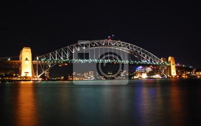 Постер Города и карты Sydney Harbour Bridge, 32x20 см, на бумагеСидней<br>Постер на холсте или бумаге. Любого нужного вам размера. В раме или без. Подвес в комплекте. Трехслойная надежная упаковка. Доставим в любую точку России. Вам осталось только повесить картину на стену!<br>
