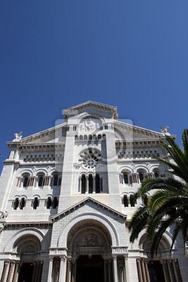 Постер Монако Санкт-Николаевского собора в МонакоМонако<br>Постер на холсте или бумаге. Любого нужного вам размера. В раме или без. Подвес в комплекте. Трехслойная надежная упаковка. Доставим в любую точку России. Вам осталось только повесить картину на стену!<br>