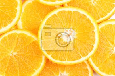 Постер Еда и напитки Апельсины макро, 30x20 см, на бумагеФрукты<br>Постер на холсте или бумаге. Любого нужного вам размера. В раме или без. Подвес в комплекте. Трехслойная надежная упаковка. Доставим в любую точку России. Вам осталось только повесить картину на стену!<br>