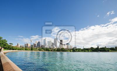 Постер Города и карты Sydney harbour, 33x20 см, на бумагеСидней<br>Постер на холсте или бумаге. Любого нужного вам размера. В раме или без. Подвес в комплекте. Трехслойная надежная упаковка. Доставим в любую точку России. Вам осталось только повесить картину на стену!<br>