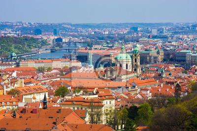 Постер Прага Панорамы ПрагиПрага<br>Постер на холсте или бумаге. Любого нужного вам размера. В раме или без. Подвес в комплекте. Трехслойная надежная упаковка. Доставим в любую точку России. Вам осталось только повесить картину на стену!<br>