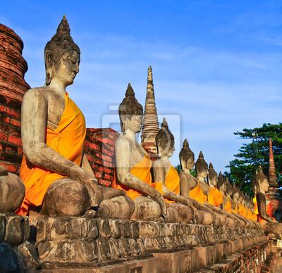 """Постер Лаос """"Старый Будда"""" от Artwall"""