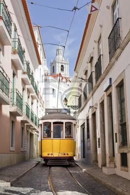 Постер Португалия Трамвайные LisboaПортугалия<br>Постер на холсте или бумаге. Любого нужного вам размера. В раме или без. Подвес в комплекте. Трехслойная надежная упаковка. Доставим в любую точку России. Вам осталось только повесить картину на стену!<br>