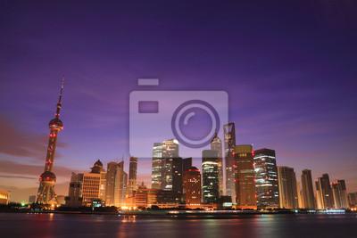Постер Шанхай Шанхай skyline на рассветеШанхай<br>Постер на холсте или бумаге. Любого нужного вам размера. В раме или без. Подвес в комплекте. Трехслойная надежная упаковка. Доставим в любую точку России. Вам осталось только повесить картину на стену!<br>