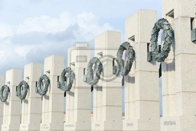 Постер Вашингтон 2 мировой Войны  Мемориал  в ВашингтонеВашингтон<br>Постер на холсте или бумаге. Любого нужного вам размера. В раме или без. Подвес в комплекте. Трехслойная надежная упаковка. Доставим в любую точку России. Вам осталось только повесить картину на стену!<br>