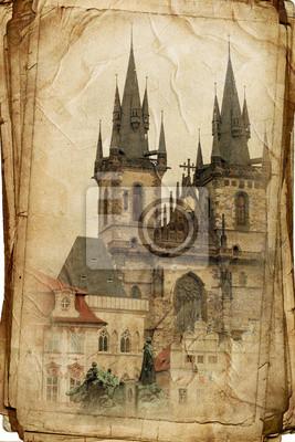 Постер Города и карты Постер 45426478, 20x30 см, на бумагеПрага<br>Постер на холсте или бумаге. Любого нужного вам размера. В раме или без. Подвес в комплекте. Трехслойная надежная упаковка. Доставим в любую точку России. Вам осталось только повесить картину на стену!<br>