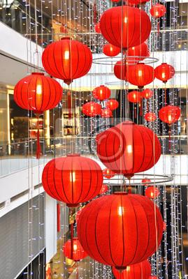 Постер Сингапур Торговый центр украшен фонарями на китайский Новый Год, 20x30 см, на бумагеСингапур<br>Постер на холсте или бумаге. Любого нужного вам размера. В раме или без. Подвес в комплекте. Трехслойная надежная упаковка. Доставим в любую точку России. Вам осталось только повесить картину на стену!<br>
