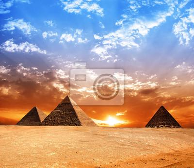 Постер Архитектура Постер 45612487, 23x20 см, на бумагеЕгипетские пирамиды<br>Постер на холсте или бумаге. Любого нужного вам размера. В раме или без. Подвес в комплекте. Трехслойная надежная упаковка. Доставим в любую точку России. Вам осталось только повесить картину на стену!<br>