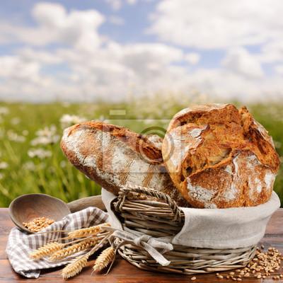 Свежеиспеченный традиционный хлеб, 20x20 см, на бумагеРесторан, кафе<br>Постер на холсте или бумаге. Любого нужного вам размера. В раме или без. Подвес в комплекте. Трехслойная надежная упаковка. Доставим в любую точку России. Вам осталось только повесить картину на стену!<br>