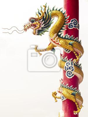 Постер Города и карты Китайский дракон, 20x26 см, на бумагеШанхай<br>Постер на холсте или бумаге. Любого нужного вам размера. В раме или без. Подвес в комплекте. Трехслойная надежная упаковка. Доставим в любую точку России. Вам осталось только повесить картину на стену!<br>