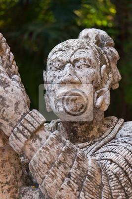 Постер Мехико Скалистые памятник родной Майя в МексикеМехико<br>Постер на холсте или бумаге. Любого нужного вам размера. В раме или без. Подвес в комплекте. Трехслойная надежная упаковка. Доставим в любую точку России. Вам осталось только повесить картину на стену!<br>