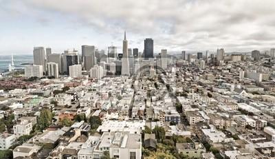 Постер Сан-Франциско Вид из Сан-Франциско, СШАСан-Франциско<br>Постер на холсте или бумаге. Любого нужного вам размера. В раме или без. Подвес в комплекте. Трехслойная надежная упаковка. Доставим в любую точку России. Вам осталось только повесить картину на стену!<br>