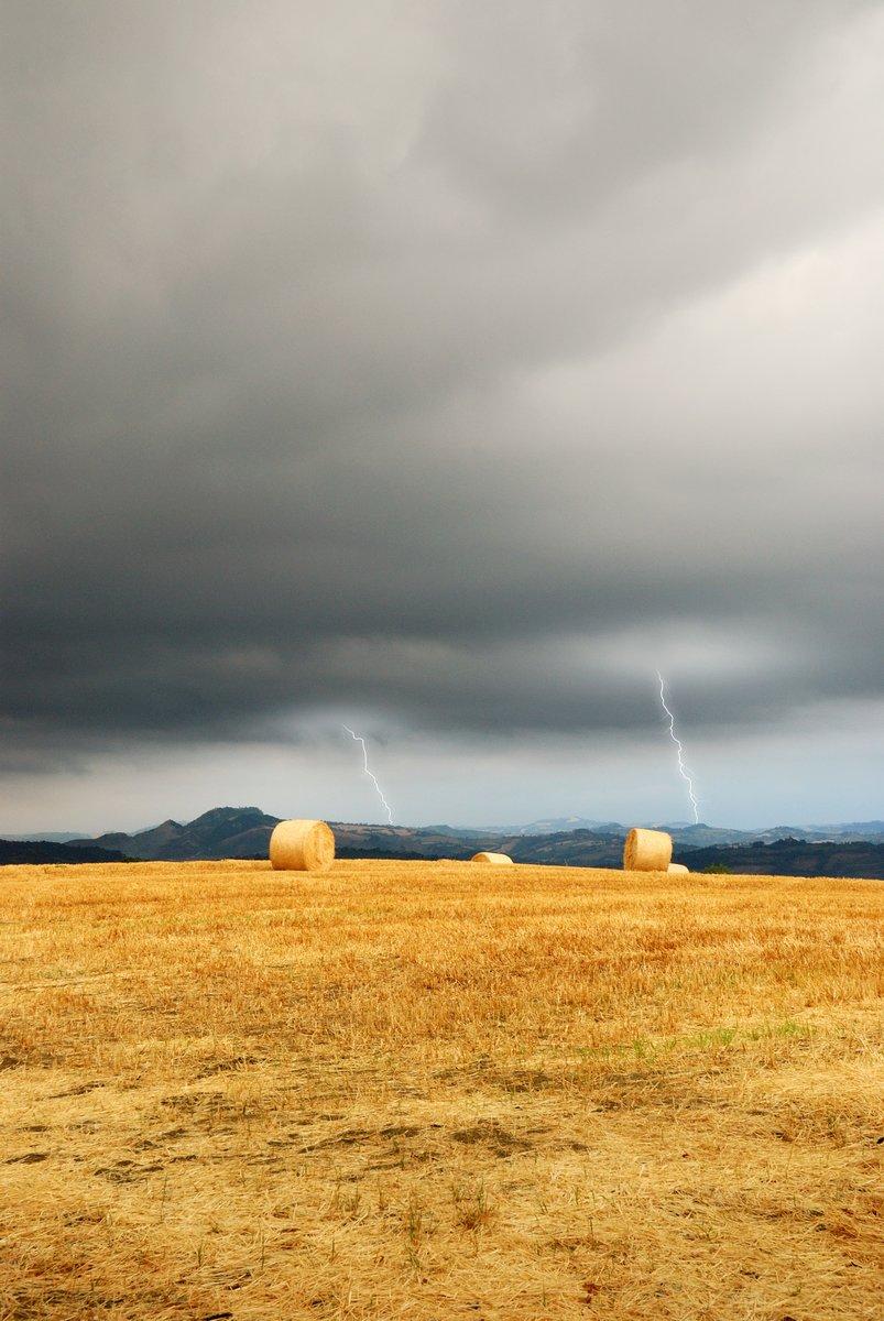 Постер Ураган, буря, торнадо Молнии на горизонте над сельской местностиУраган, буря, торнадо<br>Постер на холсте или бумаге. Любого нужного вам размера. В раме или без. Подвес в комплекте. Трехслойная надежная упаковка. Доставим в любую точку России. Вам осталось только повесить картину на стену!<br>