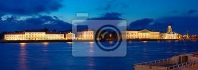 Постер Санкт-Петербург Вид Санкт-Петербурга в ночьСанкт-Петербург<br>Постер на холсте или бумаге. Любого нужного вам размера. В раме или без. Подвес в комплекте. Трехслойная надежная упаковка. Доставим в любую точку России. Вам осталось только повесить картину на стену!<br>