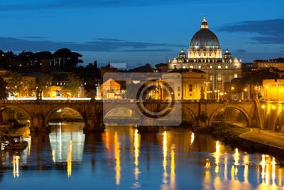 Постер Ватикан Ватикан ночьюВатикан<br>Постер на холсте или бумаге. Любого нужного вам размера. В раме или без. Подвес в комплекте. Трехслойная надежная упаковка. Доставим в любую точку России. Вам осталось только повесить картину на стену!<br>