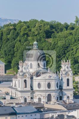 Постер Зальцбург Университетская церковь (Kollegienkirche) в Зальцбург, АвстрияЗальцбург<br>Постер на холсте или бумаге. Любого нужного вам размера. В раме или без. Подвес в комплекте. Трехслойная надежная упаковка. Доставим в любую точку России. Вам осталось только повесить картину на стену!<br>