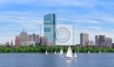 Постер Бостон Бостон Чарльз-Ривер, панорамаБостон<br>Постер на холсте или бумаге. Любого нужного вам размера. В раме или без. Подвес в комплекте. Трехслойная надежная упаковка. Доставим в любую точку России. Вам осталось только повесить картину на стену!<br>