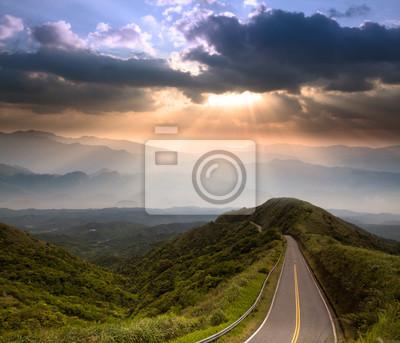 Постер Пейзаж горный