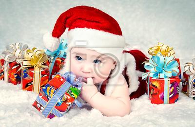 Постер 12.31 Новый Год Милые маленькие santa baby с новогодними подарками12.31 Новый Год<br>Постер на холсте или бумаге. Любого нужного вам размера. В раме или без. Подвес в комплекте. Трехслойная надежная упаковка. Доставим в любую точку России. Вам осталось только повесить картину на стену!<br>