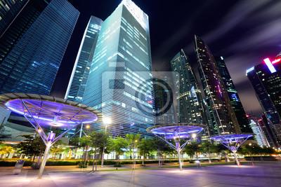 Постер Города и карты Сингапур-Город в сумерках, 30x20 см, на бумагеСингапур<br>Постер на холсте или бумаге. Любого нужного вам размера. В раме или без. Подвес в комплекте. Трехслойная надежная упаковка. Доставим в любую точку России. Вам осталось только повесить картину на стену!<br>