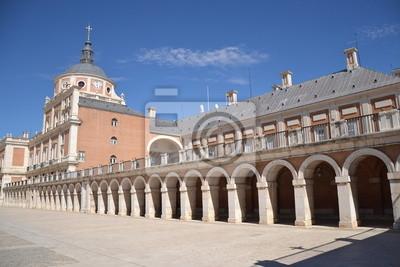 Постер Города и карты Palacio Real de Aranjuez, 30x20 см, на бумагеМадрид<br>Постер на холсте или бумаге. Любого нужного вам размера. В раме или без. Подвес в комплекте. Трехслойная надежная упаковка. Доставим в любую точку России. Вам осталось только повесить картину на стену!<br>