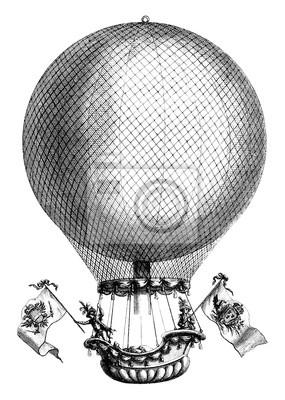 Постер-картина Фото-постеры Аэростат - аэростат - 18 века, 20x28 см, на бумагеВоздушные шары<br>Постер на холсте или бумаге. Любого нужного вам размера. В раме или без. Подвес в комплекте. Трехслойная надежная упаковка. Доставим в любую точку России. Вам осталось только повесить картину на стену!<br>