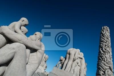 Постер Осло Парк Вигеланд статуи дедушкаОсло<br>Постер на холсте или бумаге. Любого нужного вам размера. В раме или без. Подвес в комплекте. Трехслойная надежная упаковка. Доставим в любую точку России. Вам осталось только повесить картину на стену!<br>