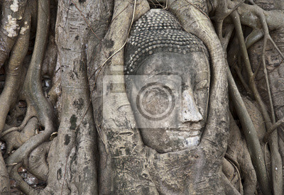 Постер Статуя Будды